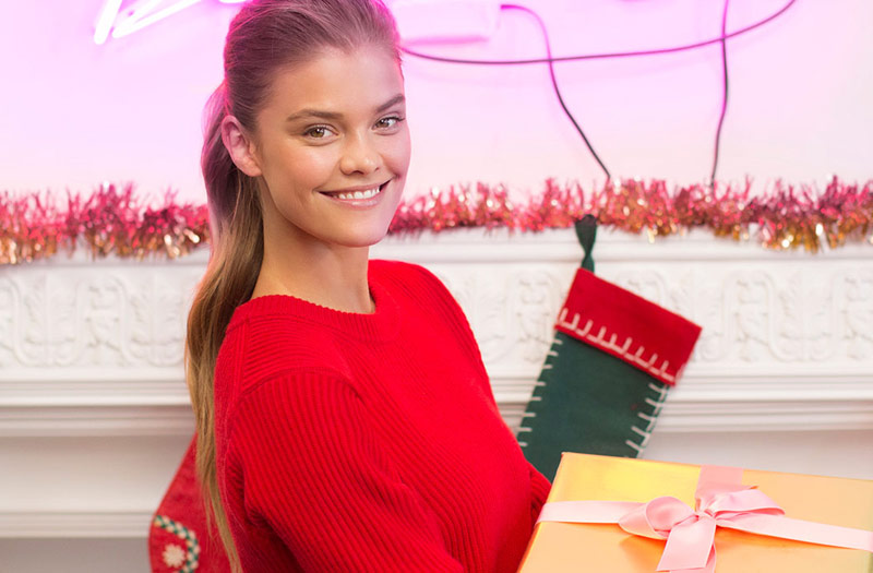 Nina Agdal Stars in Merry Michael Kors Holiday Gifting Video