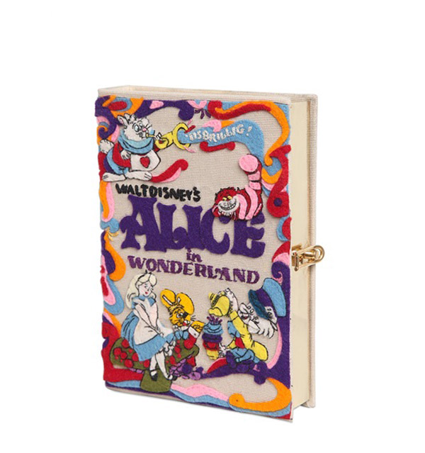 Olympia Le-Tan x Alice in Wonderland Book Clutch