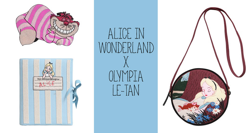 Olympia Le-Tan creates Alice in Wonderland bag collection