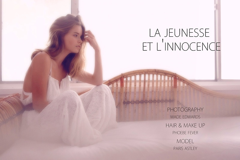 Youth & Innocence - Paris Astley By Wade Edwards