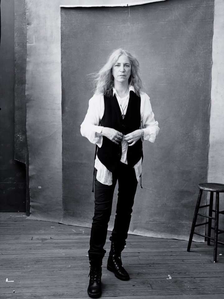 Patti Smith for the 2016 Pirelli calendar