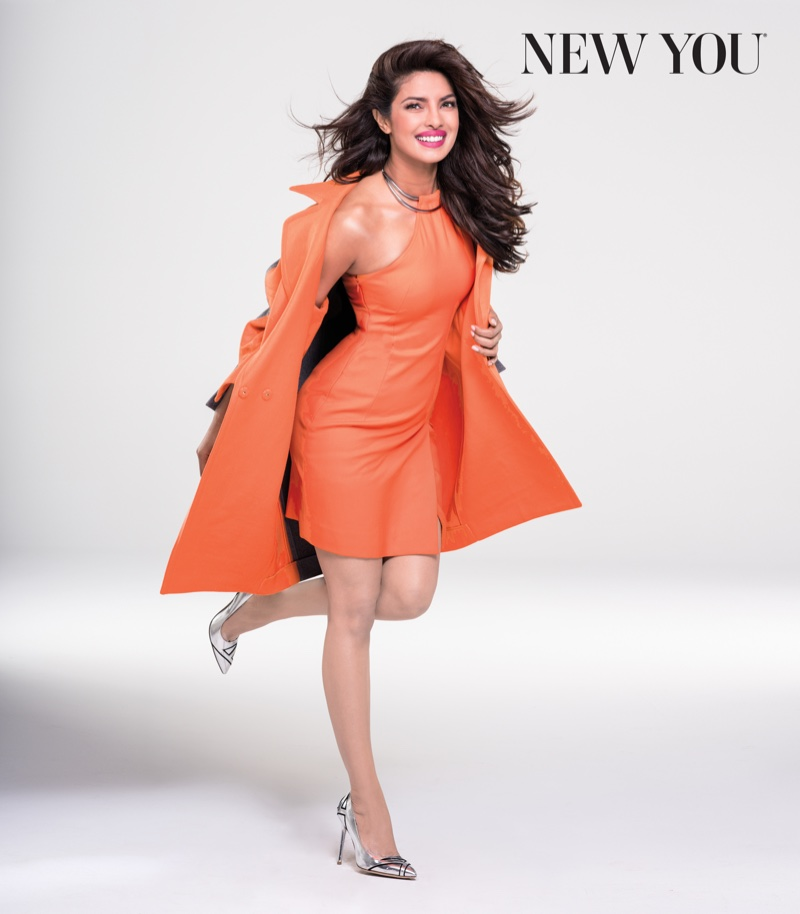 The Quantico star opens up about childhood bullying in the new issue