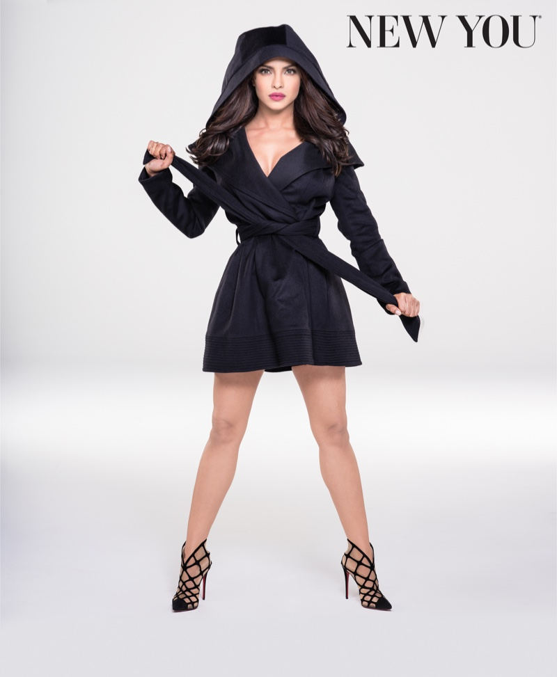 Priyanka poses in New You Magazine's winter issue