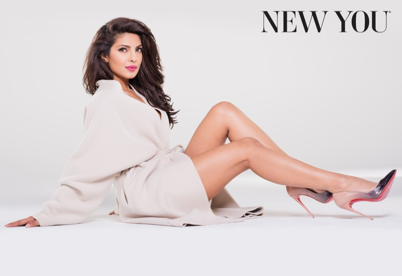 Quantico Star Priyanka Chopra Poses For New You Magazine