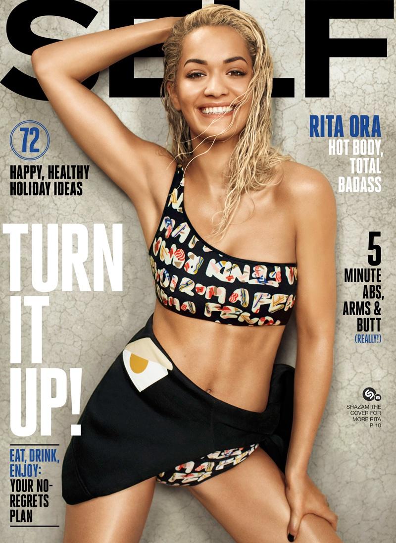 Rita Ora on Self Magazine December 2015 cover