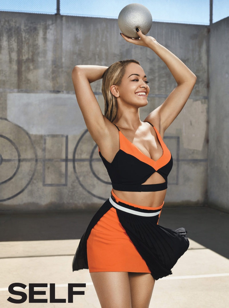 Rita Ora Flaunts Her Toned Figure for Self Magazine