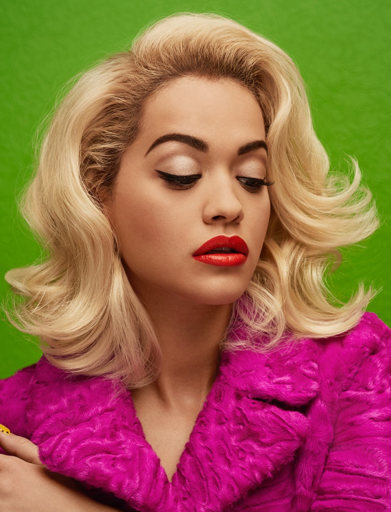 Rita wears polished waves for Wonderland Magazine