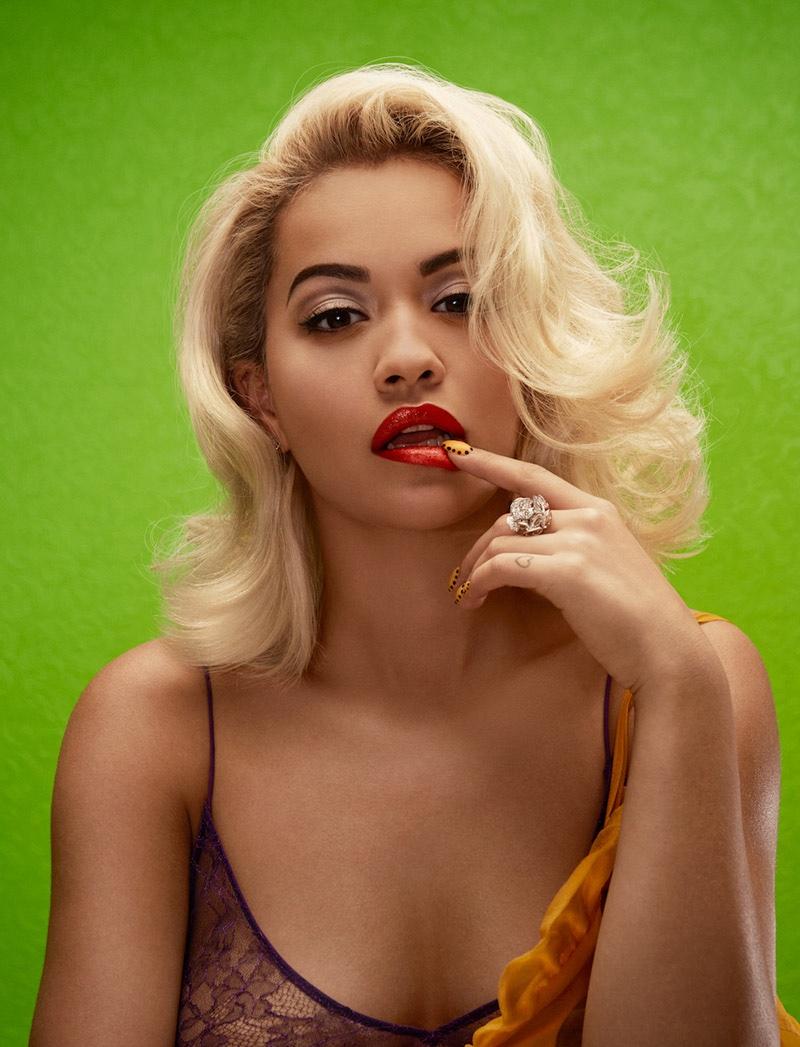 Rita Ora Goes Bombshell for Wonderland Cover Story