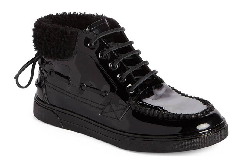 Saint Laurent Antibe Boat Sneaker $695