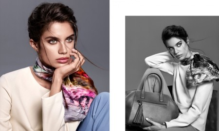 Sara Sampaio stars in Aker's fall-winter 2015 campaign