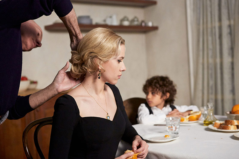 Scarlett Johansson behind the scenes on Dolce & Gabbana The One fragrance campaign