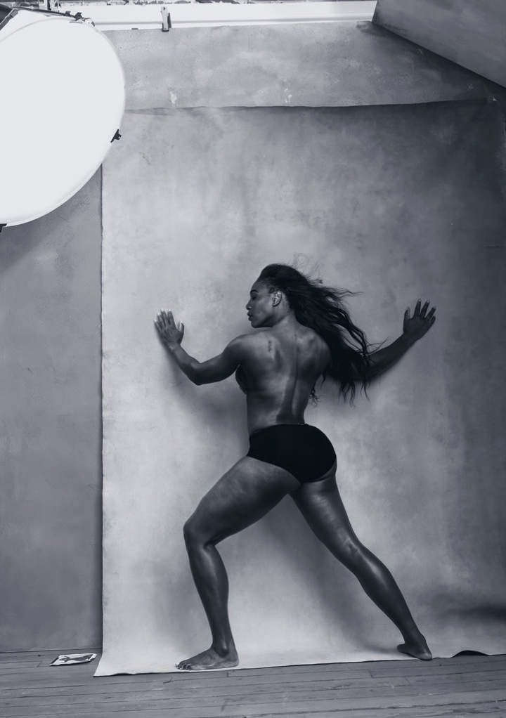 Serena Williams for the 2016 Pirelli calendar