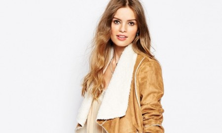 Somedays Lovin' Faux Suede Shearling Jacket