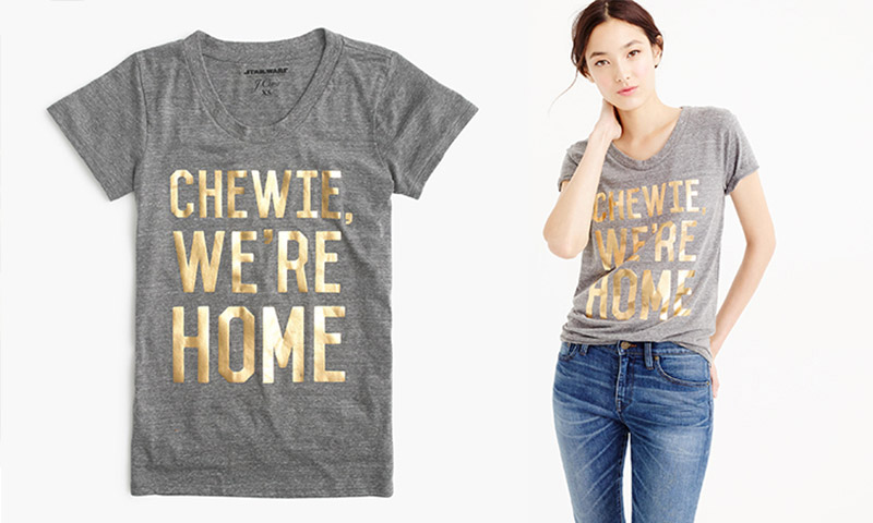 J. Crew teams up with LucasFilm for a limited-edition Star Wars shirt