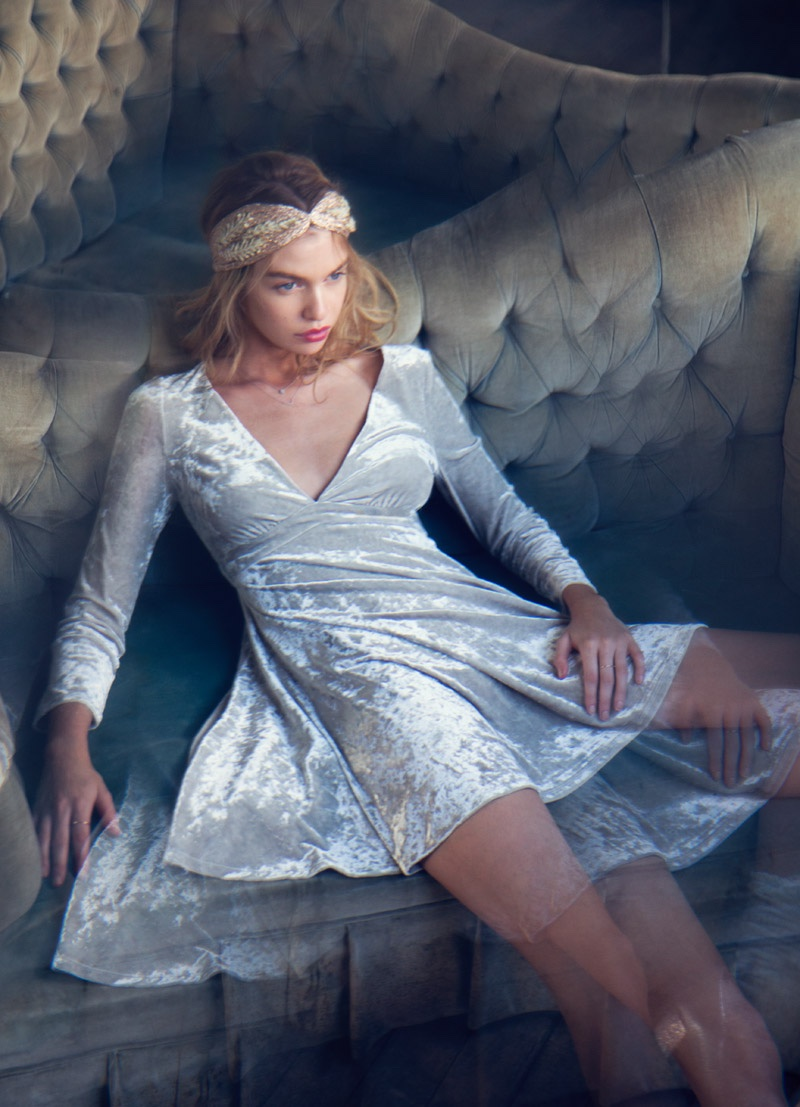 Urban Outfitters Holiday 2015 Dresses With Stella Maxwell