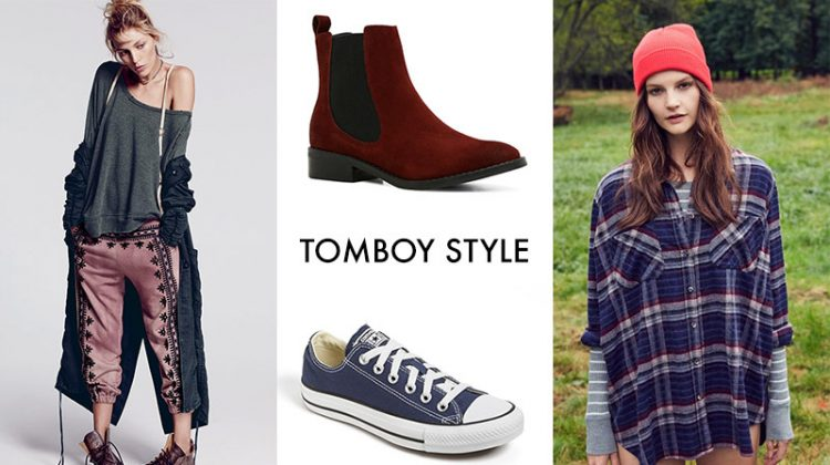 8 Ways to Channel Tomboy Style
