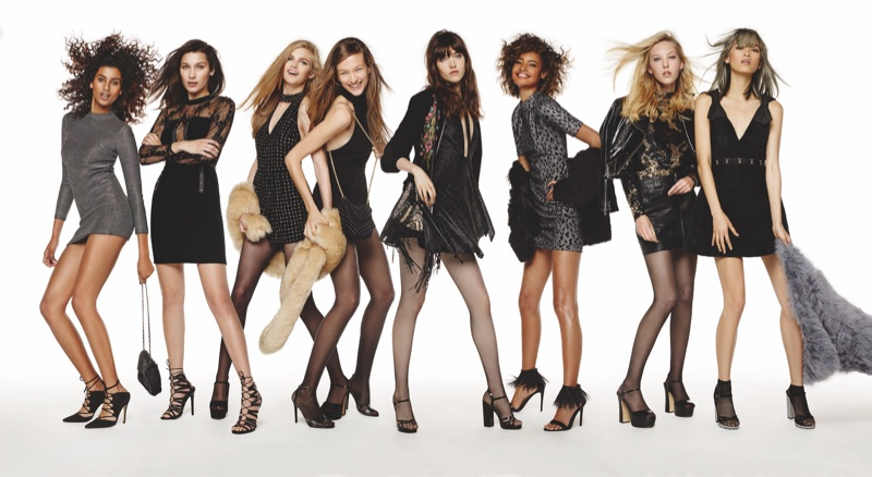 Topshop taps top models for holiday 2015 campaign