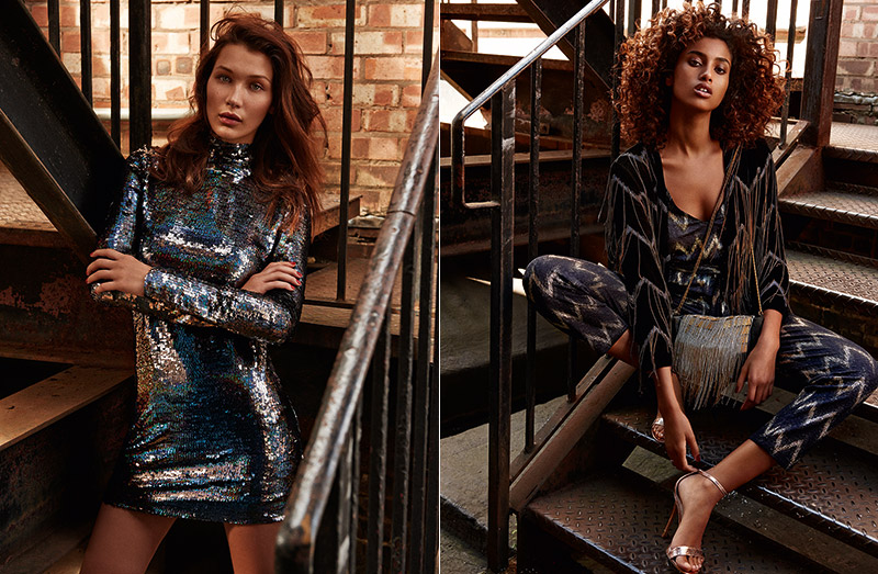 Topshop Taps 8 Of Today's Hottest Models For Its Holiday Campaign