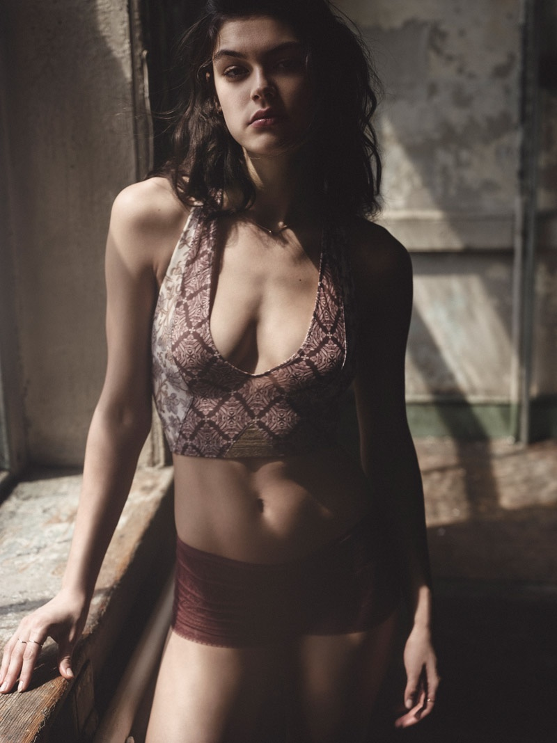 Lauren Layne Strips Down for Urban Outfitters Lingerie