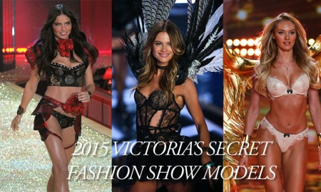 Which models will walk the 2015 Victoria's Secret Fashion Show? Photos via Shutterstock.com / Fashionstock.com