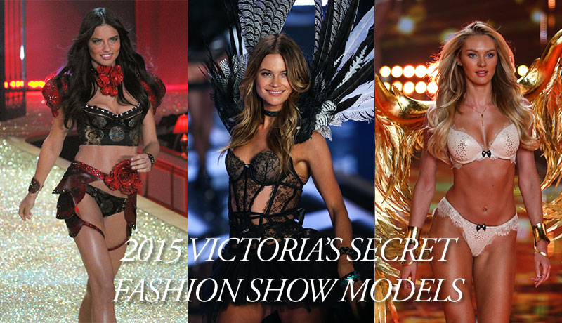 Which models will walk the 2015 Victoria's Secret Fashion Show? Photos: Shutterstock.com / Fashionstock.com