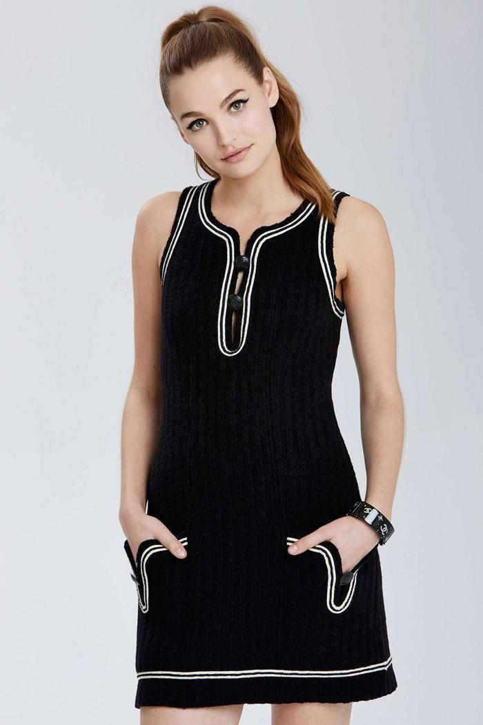 Vintage Chanel Lillie Knit Dress