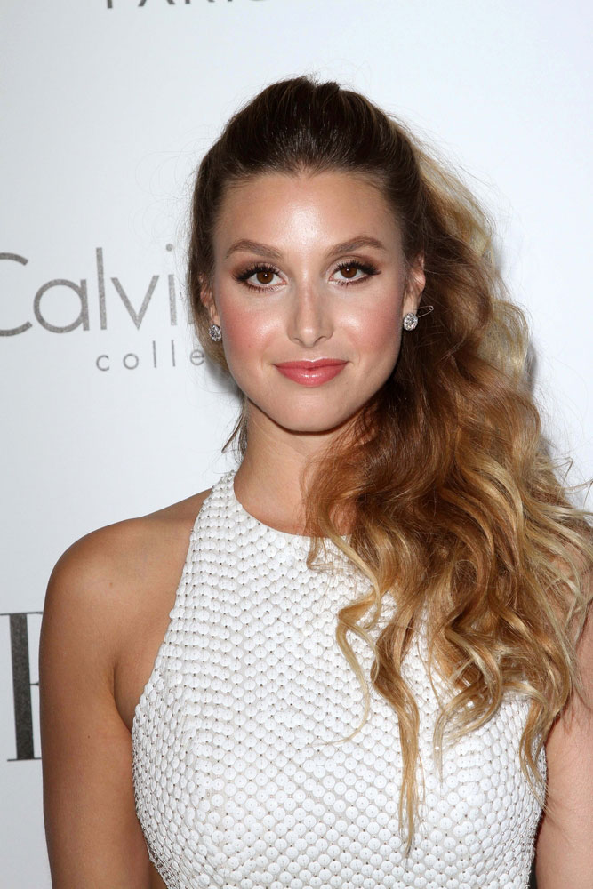 Whitney Port Wore A High Low Dress On Her Wedding Day