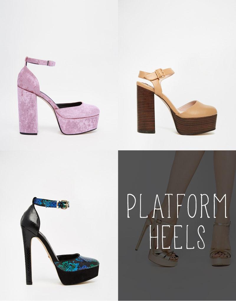 Shop Platform Heels