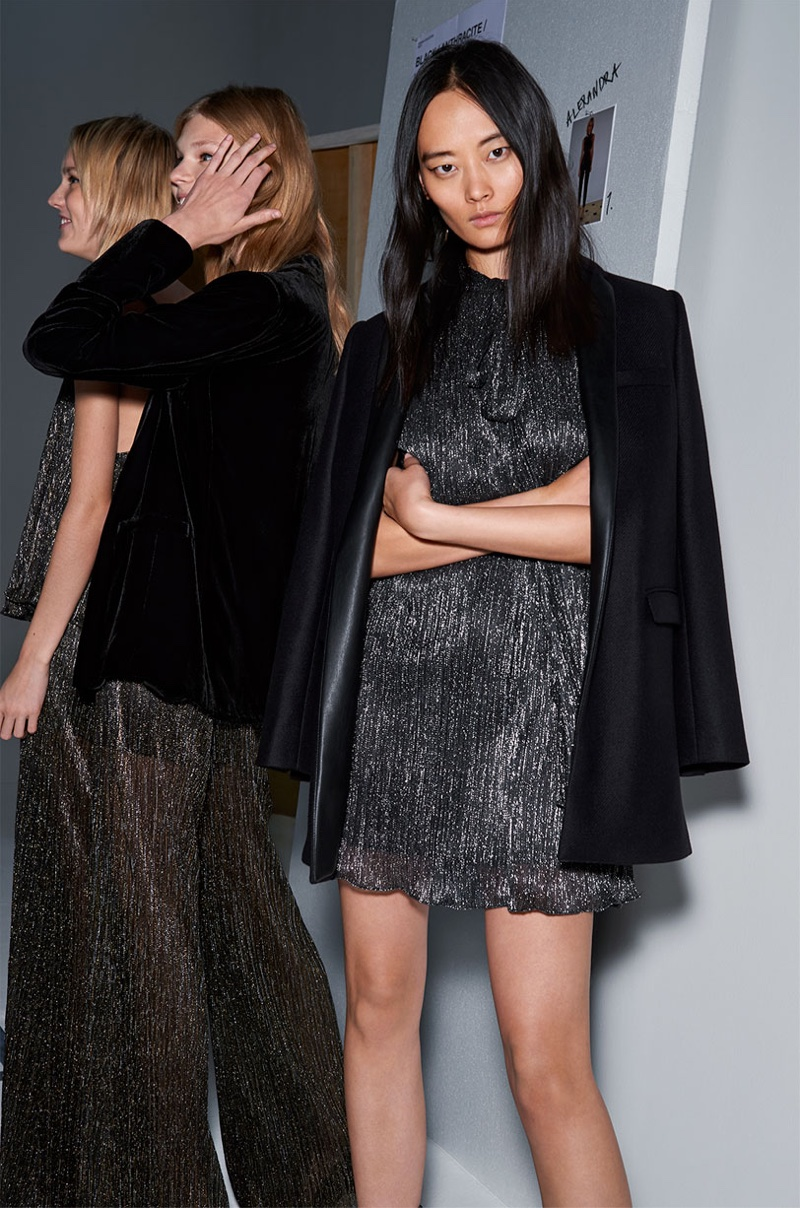 Zara Spotlights Night Out Looks For Its New Evening 2015 Collection