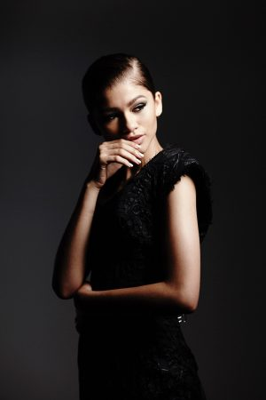 Zendaya Gets Ready for Her 'Close Up' in Hunger Fashion Film