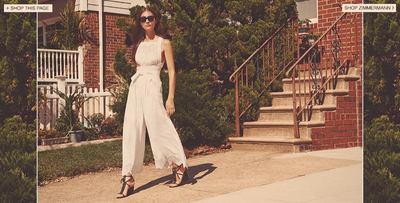 Zimmermann Empire Spice Jumpsuit, Le Specs Halfmoon Sunglasses