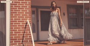 Marine Deeleuw Models Zimmermann's Dreamy Resort Dresses
