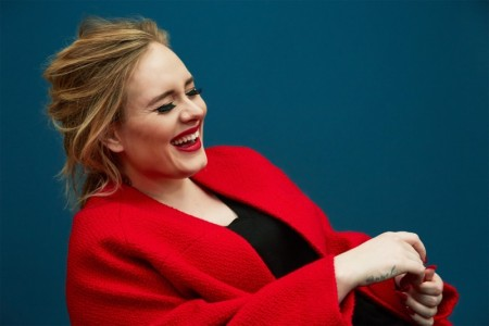 Adele Poses for Time Magazine & Gets Real About Social Media