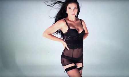Adriana Lima stars in LOVE Magazine advent calendar film