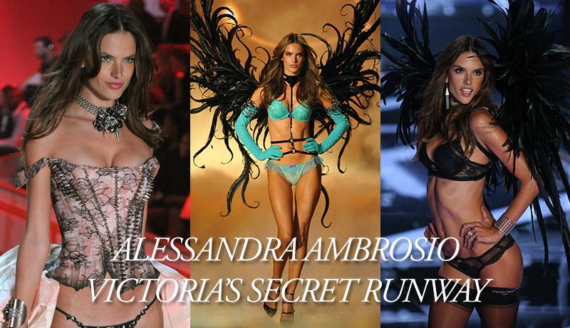 12 Of Alessandra Ambrosio`s Hottest Victoria`s Secret Runway Moments