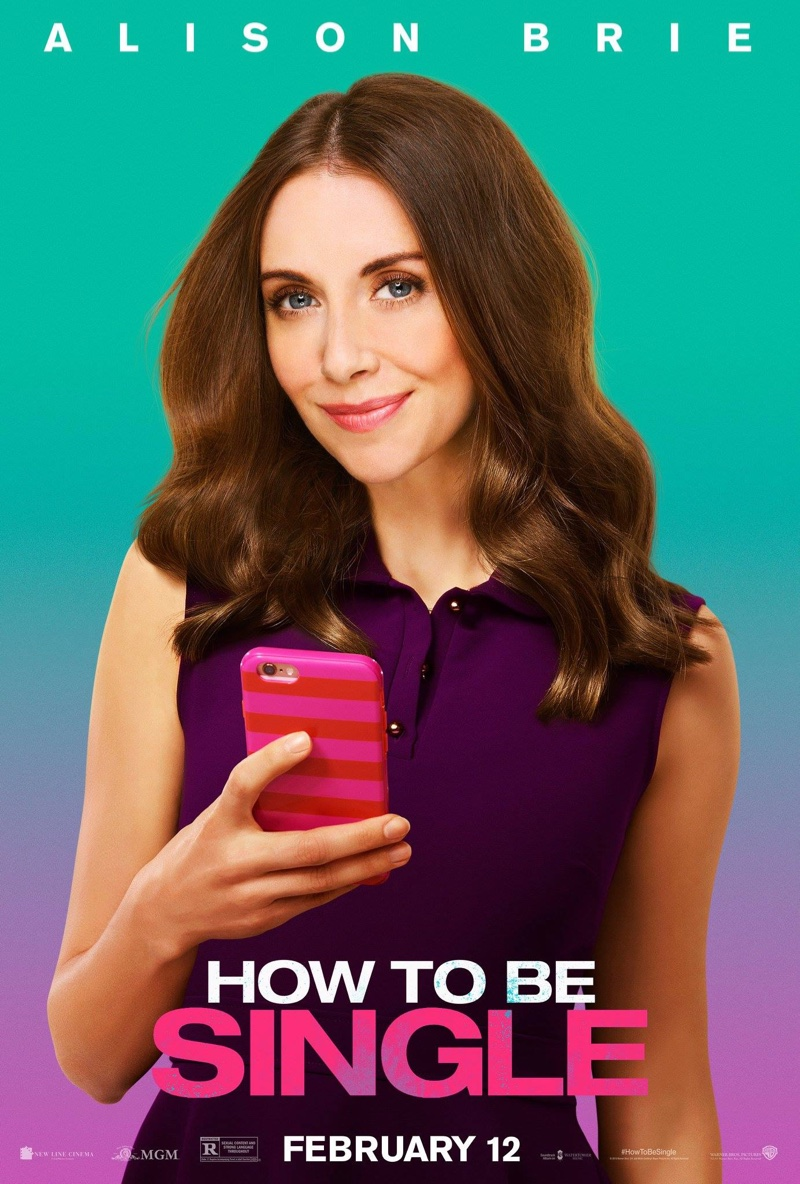 Alison Brie On How To Be Single Poster