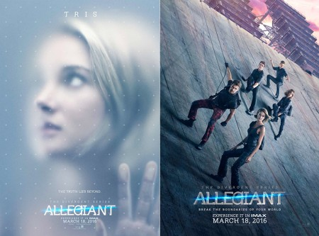 Shailene Woodley Gets Her Closeup in 'Allegiant' Posters