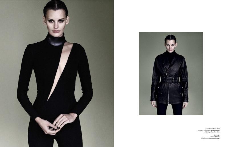 Tempest: Amanda Murphy Takes On Dark Fashion for Zoo Magazine