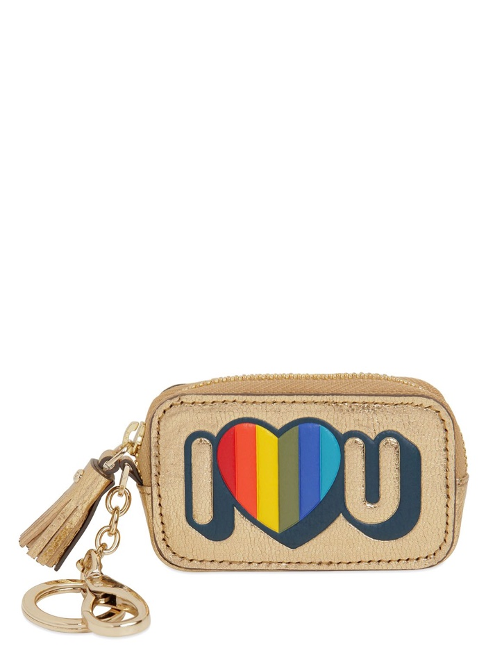 Anya Hindmarch I Love You Keyholder
