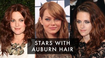 A Darker Shade of Red: 12 Stars with Auburn Hair