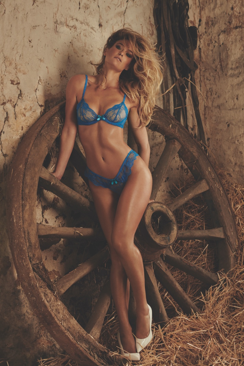 Bar Refaeli stars in Agent Provocateur's spring-summer 2016 campaign