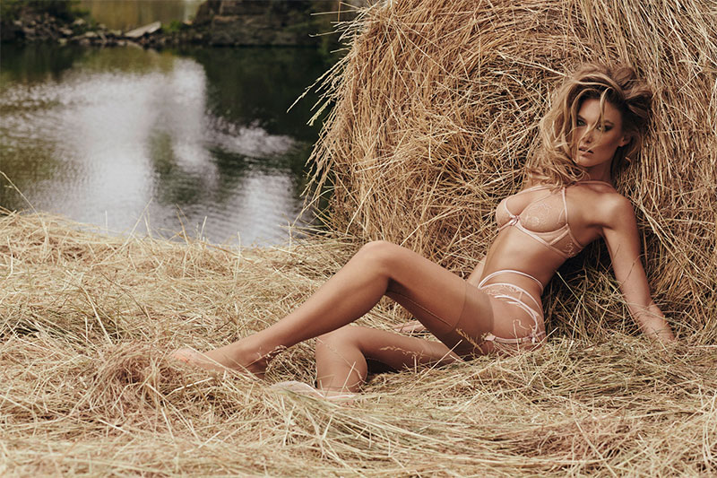 Bar Refaeli Plays a Sexy Farm Girl in Agent Provocateur Film