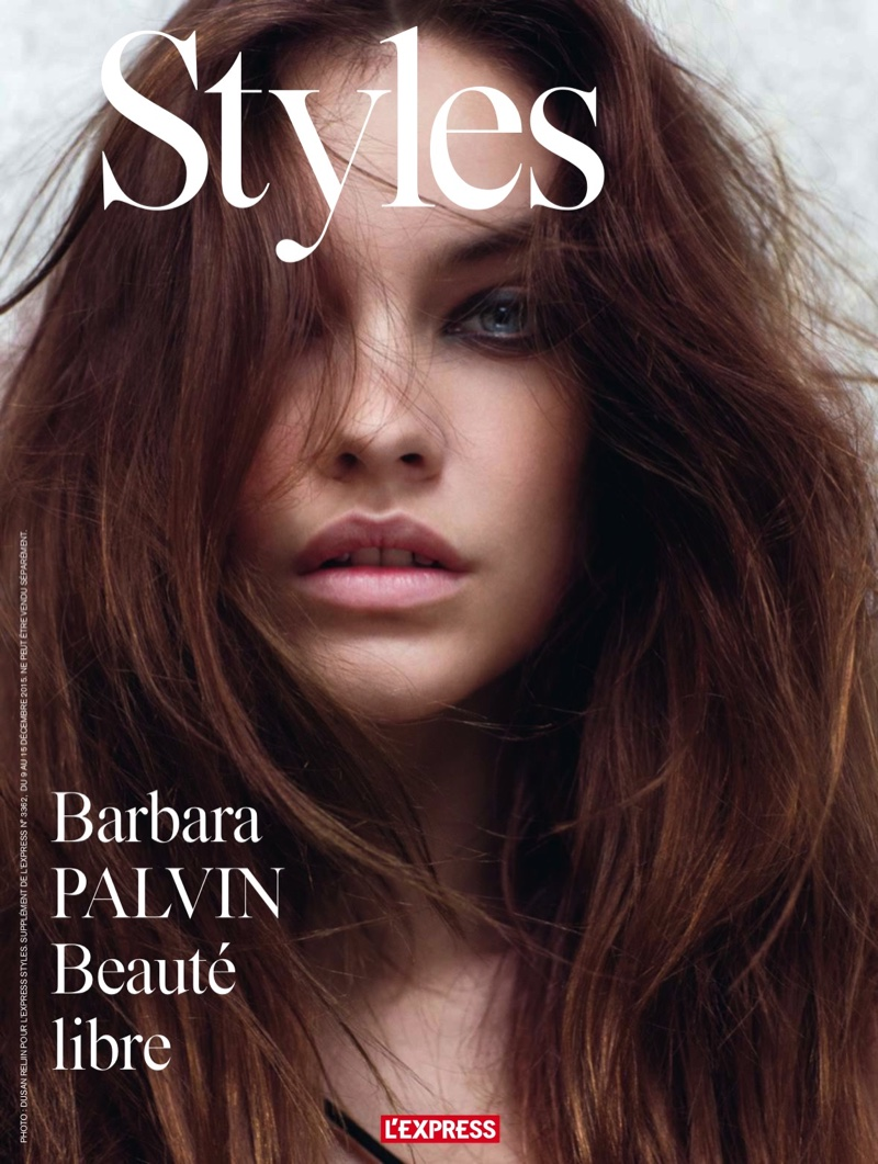 Barbara Palvin Gives Major Hair Inspiration In L`Express Styles