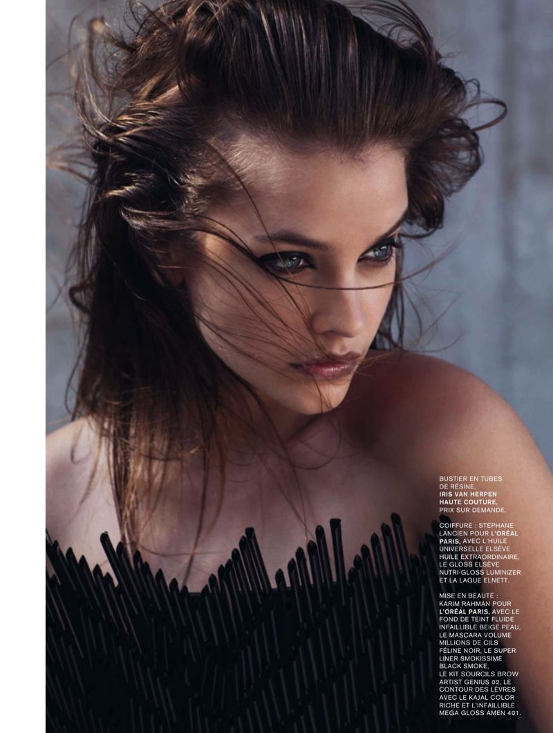 Barbara Palvin Gives Major Hair Inspiration in L'Express Styles