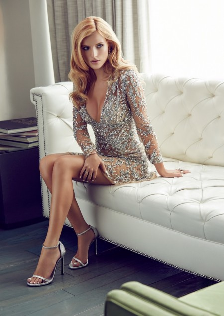 Bella Thorne Brings the Shine Factor to Glamour Mexico
