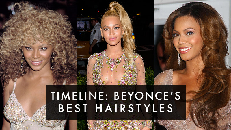 Beyonce Hair Style: Beyonce Hairstyle Timeline: Photos Of Beyonce's Hair