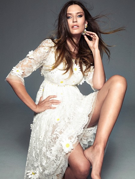 Bianca Balti Stuns in Dolce & Gabbana for Woman Spain by Richard Ramos