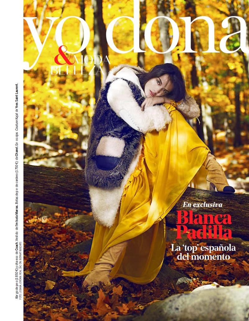 Blanca Padilla stars in Yo Dona's December issue