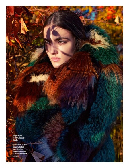 Blanca Padilla Stuns in Colorful Fur Coats for Yo Dona Editorial