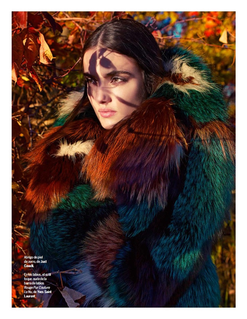 Blanca Padilla Stuns in Colorful Fur Coats for Yo Dona Editorial